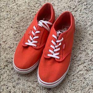 Red Vans❤️
